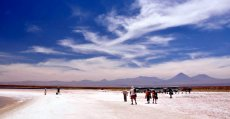 Tocanao/Atacama salt flats