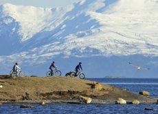 Natales by bicycle