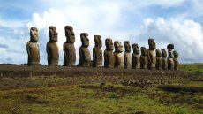 Trekking Mahatua Ovahe: Los Quince Moai