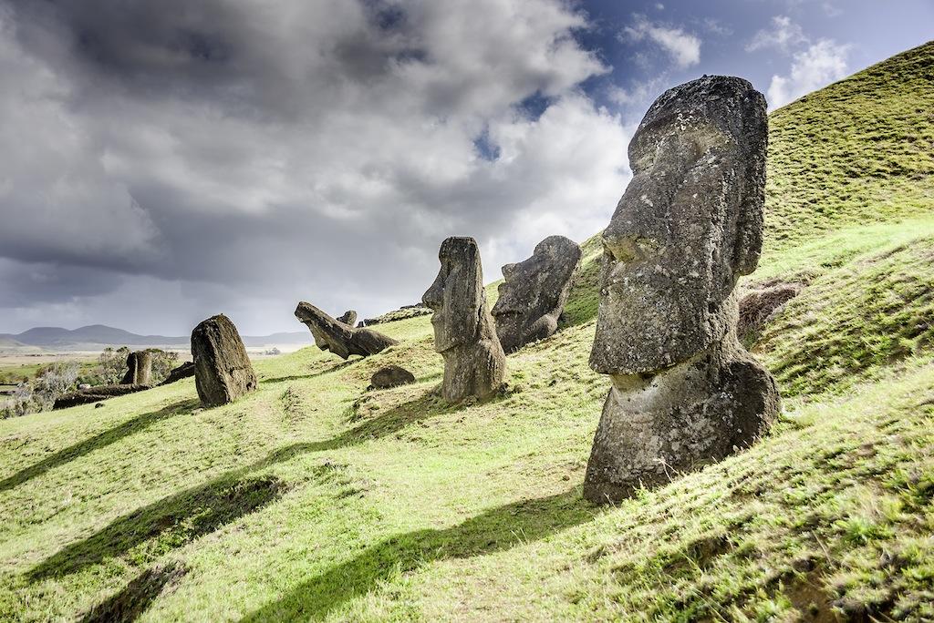 Te Ara O'Te Varua in Easter Island