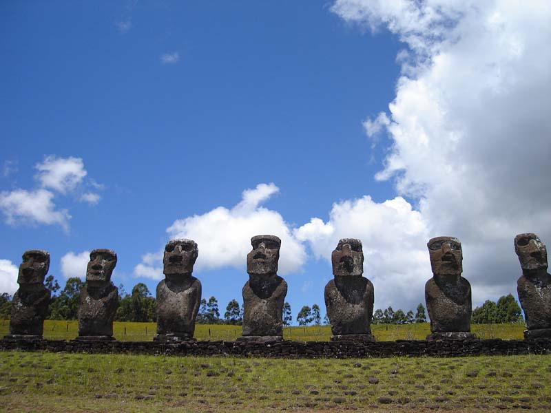 Easter Island Ritual and Fantasy