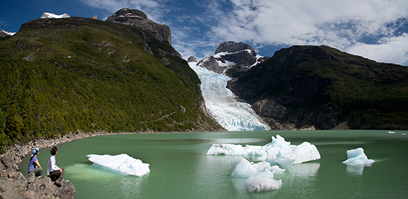 torres del paine tour  glaciers and serrano river travel