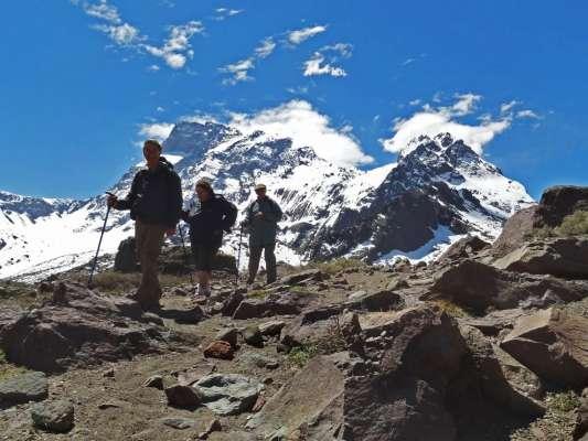 Día en la Cordillera de los Andes - Volcán