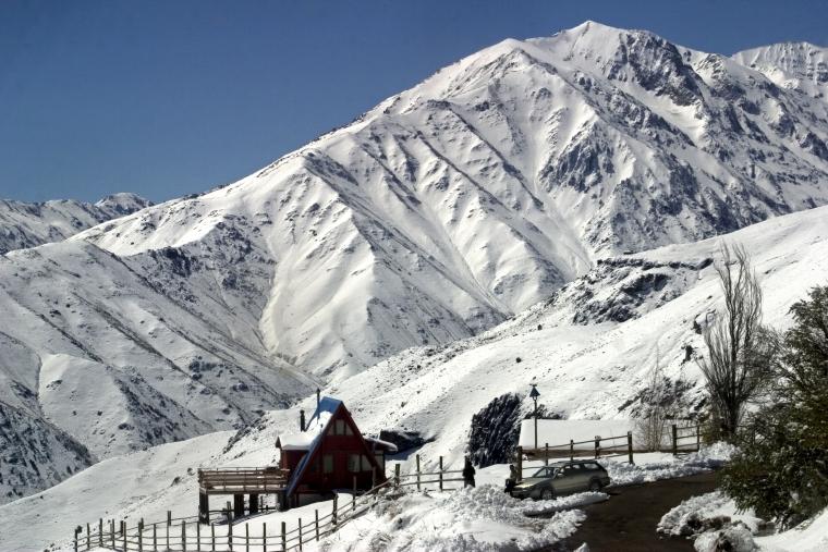 Tour Panorâmico Valle Nevado e Farellones