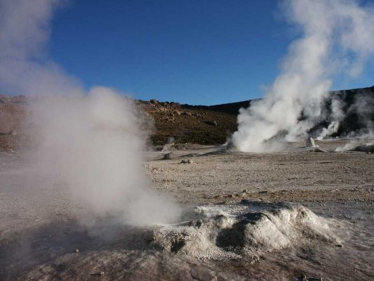 Gêiser do Tatio e Machuca