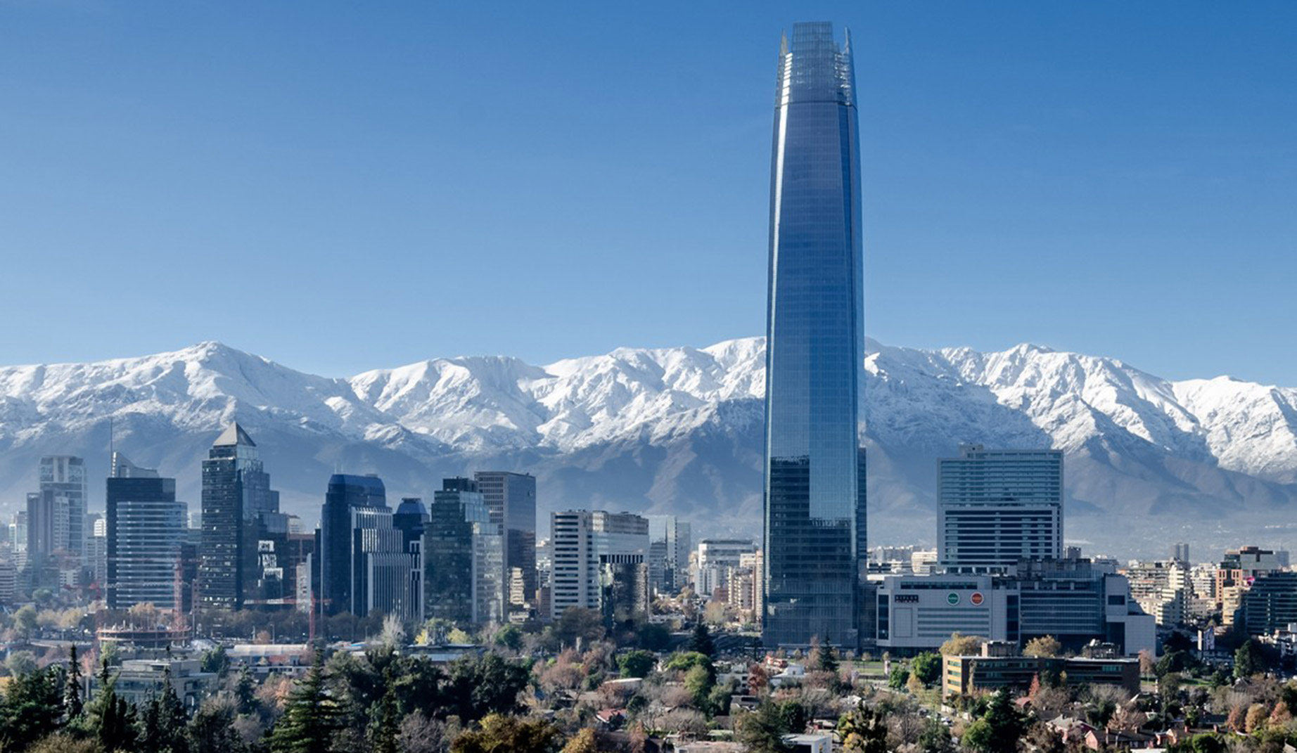 San Pedro de Atacama, Valparaíso and Santiago