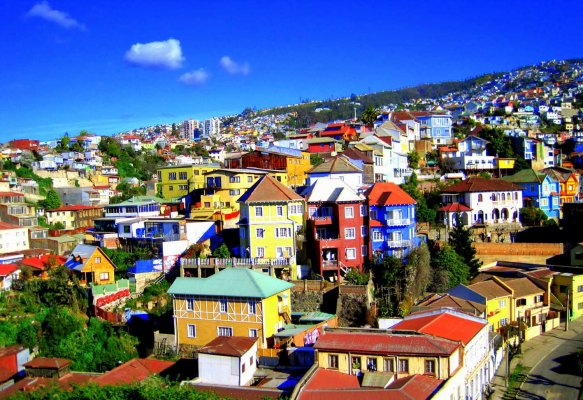 Santiago, Valparaíso e Isla de Pascua