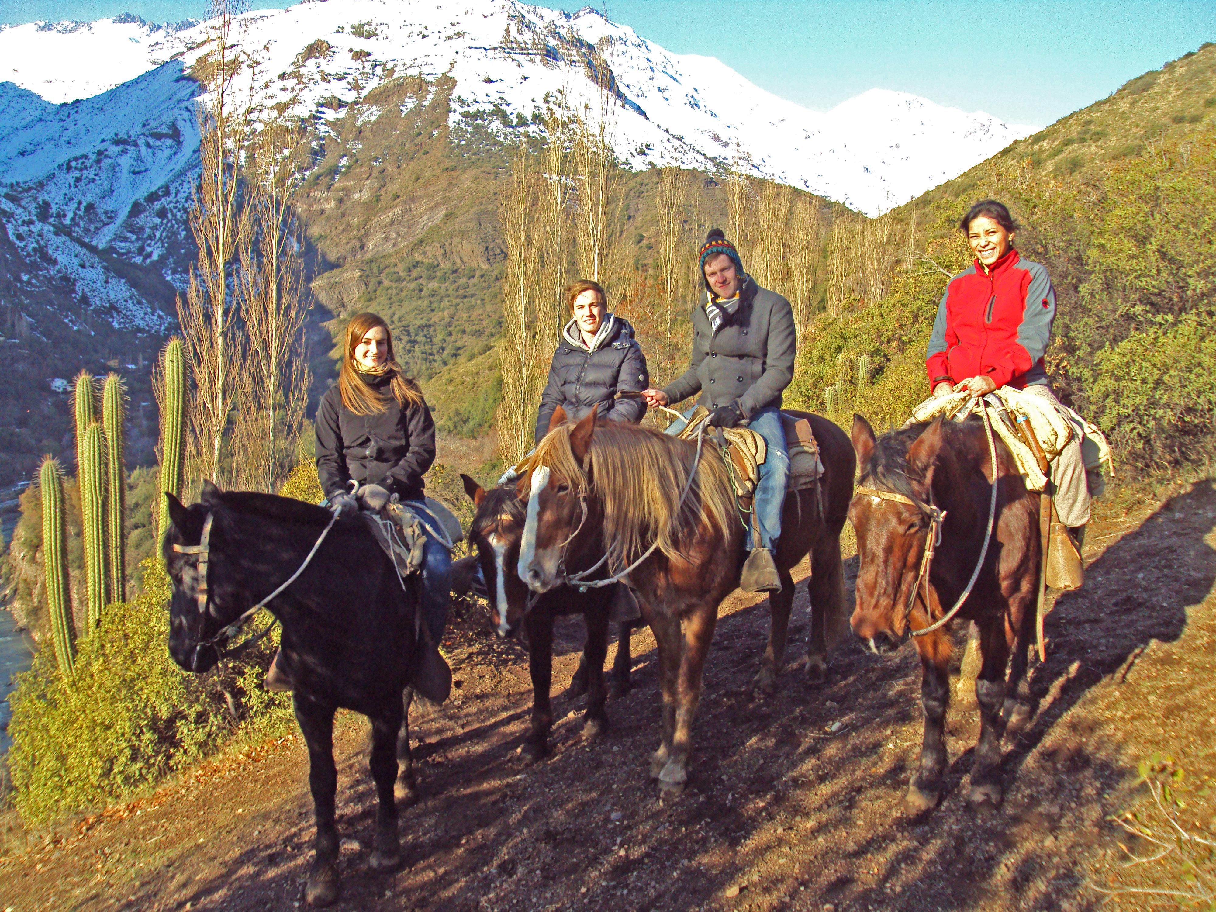 Cabalgata en Los Andes