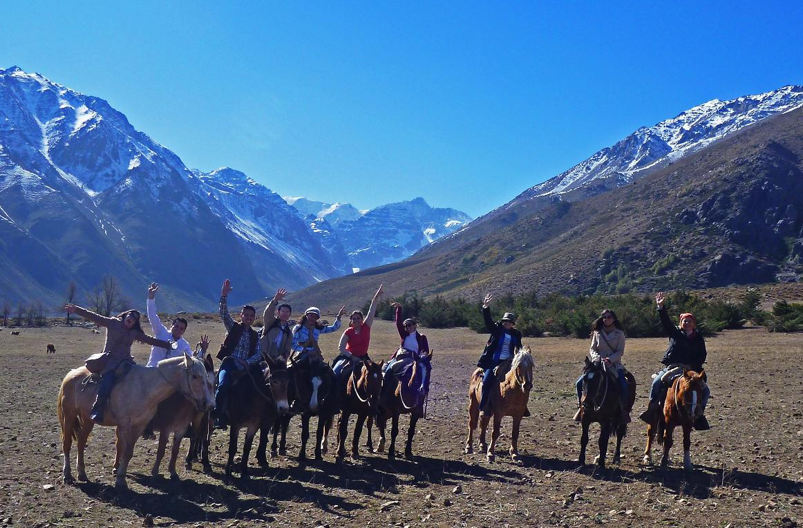 Andes on Horseback