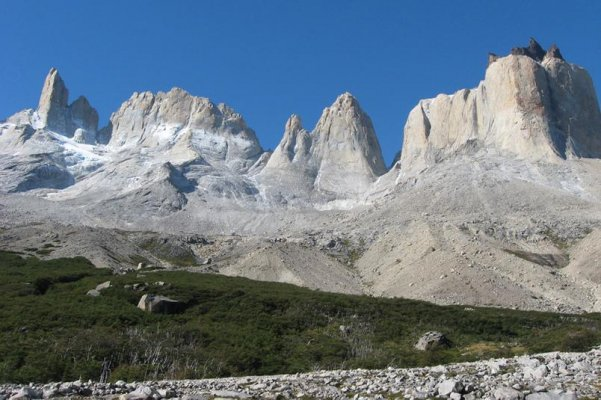 View of Torres del Paine Trekking