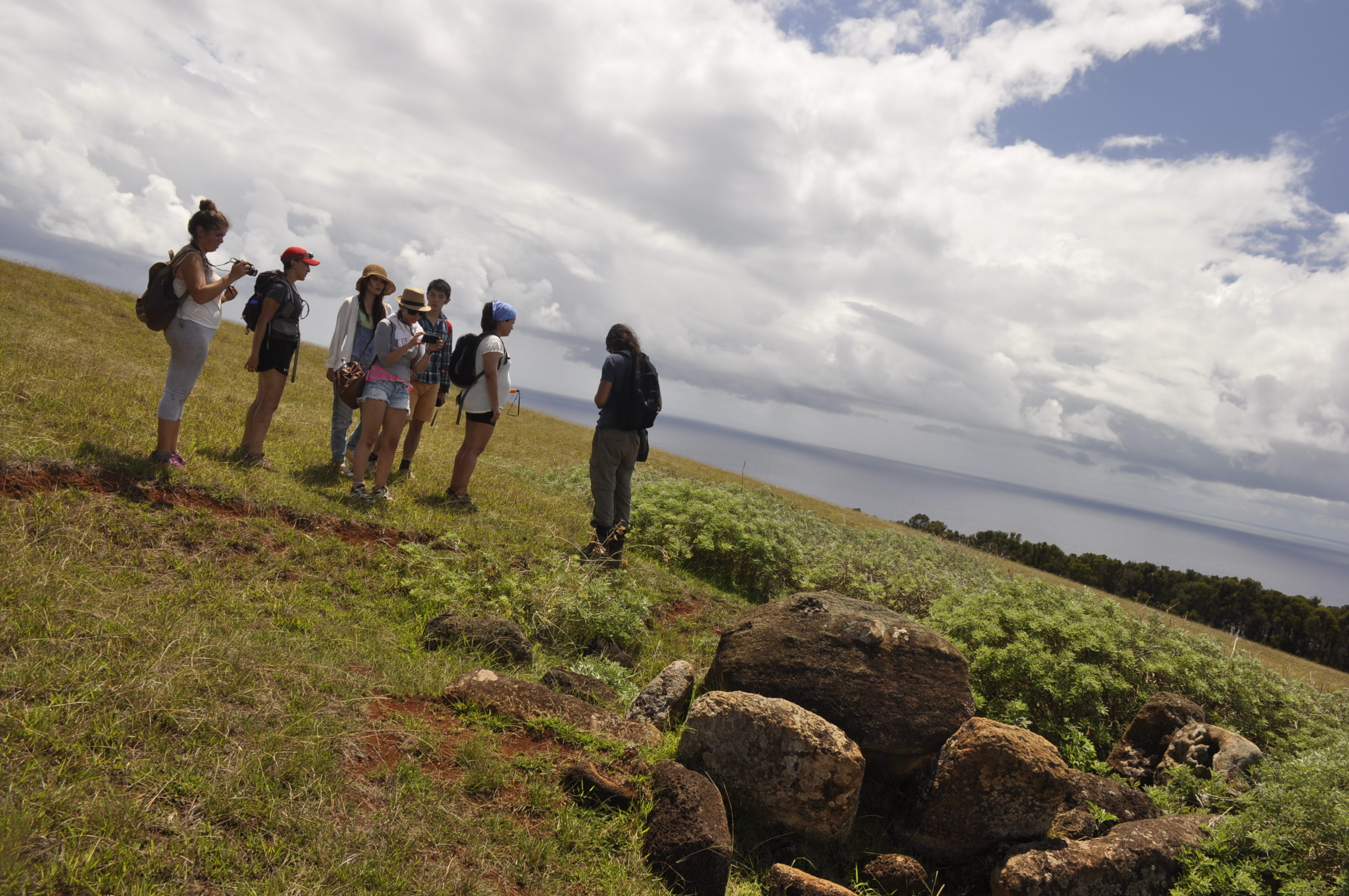 Poike Trekking Easter Island
