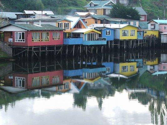 Ilha de Chiloé: Castro e Dalcahue