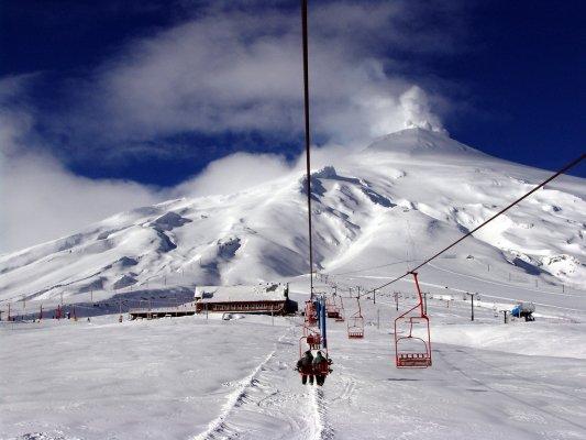 Centro de Esqui Vulcão Villarrica