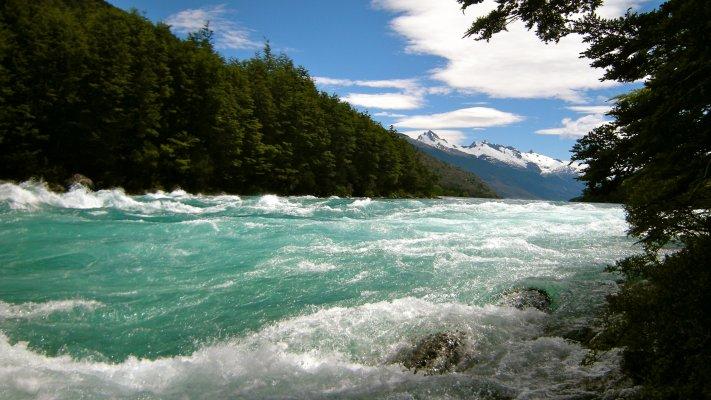Lago General Carrera e Rio Baker