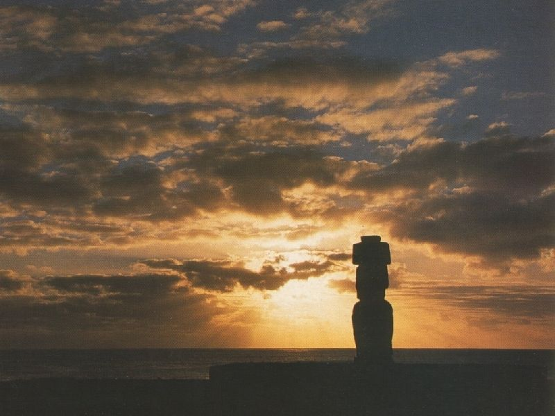 Easter Island + Air Tickets